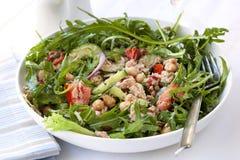 Tuna and Chickpea Salad Royalty Free Stock Photos