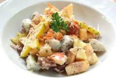 Tuna cream salad Stock Photo