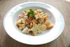 Tuna cream salad Stock Photography
