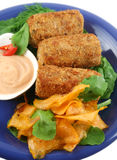 Tuna Croquettes royalty free stock photography