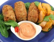 Tuna Croquettes Stock Image