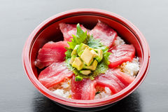 Tuna Donburi Images libres de droits