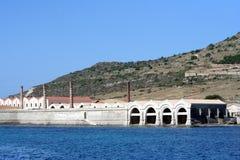 Tuna factory in Favignana Royalty Free Stock Photo