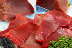 Tuna fillet Royalty Free Stock Photo