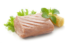Tuna fillet Stock Image