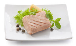Tuna fillet Stock Photography