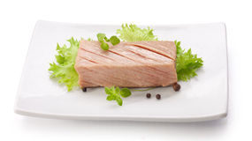 Tuna fillet Royalty Free Stock Photography