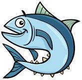 Tuna fish cartoon character. Cartoon Illustration of Tuna Fish Sea Life Animal Character Royalty Free Stock Photos