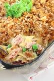 Tuna fish casserole Stock Image
