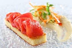 Tuna fish dish Stock Photo