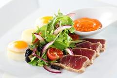 Tuna fish dish Stock Image
