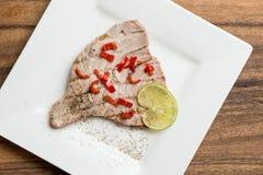 Tuna Fish Fillet Stock Image