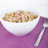 Tuna Fish Pasta Royalty Free Stock Photos