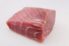 Tuna fish. Tuna raw fish on white background Royalty Free Stock Photo