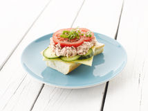 Tuna Fish Salad Sandwich Stock Images
