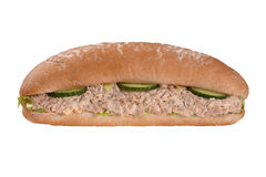 Tuna fish sandwich Royalty Free Stock Photography