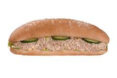 Tuna fish sandwich. Tuna fish and cucumber sandwich Royalty Free Stock Photography
