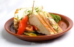Tuna-fish Sandwich Royalty Free Stock Photography