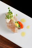 Tuna fish tartare Royalty Free Stock Photography