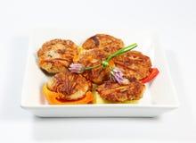 Tuna Fishcake Royalty Free Stock Images