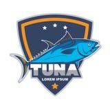 Tuna logo. Emblem for restaurant logo, Business modern logo Stock Images