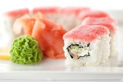 Tuna maki Sushi Royalty Free Stock Photography