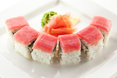 Tuna maki Sushi Stock Image