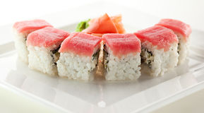 Tuna maki Sushi Royalty Free Stock Photos