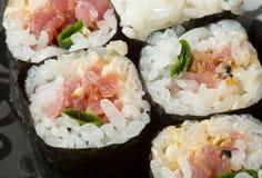 Tuna maki sushi rolls Royalty Free Stock Image