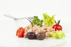 Tuna meal Royalty Free Stock Photography