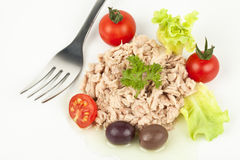 Tuna meal Stock Photos