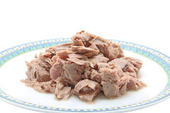 Tuna meat Royalty Free Stock Photography