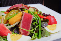 Tuna Nicoise Salad Immagine Stock