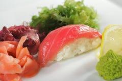 Tuna Nigiri Sushi Royalty Free Stock Photography