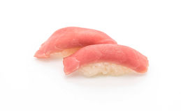 Tuna nigiri sushi - japanese food style Stock Images