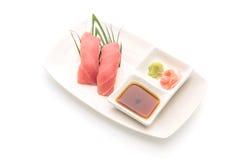 Tuna nigiri sushi - japanese food style Royalty Free Stock Photography