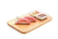 Tuna nigiri sushi - japanese food style Stock Image