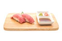 Tuna nigiri sushi - japanese food style Royalty Free Stock Photos