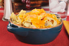 Tuna noodle casserole Royalty Free Stock Image