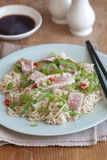 Tuna with noodles Stock Image