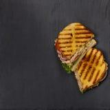 Tuna Panini Sandwich Stock Photography