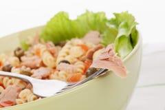 Tuna pasta. Stock Photos