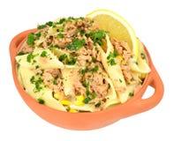Tuna And Pasta Meal Foto de archivo