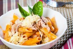 Tuna pasta Royalty Free Stock Photo
