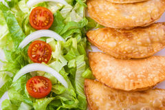 Tuna patties Royalty Free Stock Image