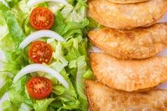 Tuna patties Royalty Free Stock Image