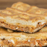 Tuna pie Royalty Free Stock Images