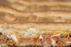 Tuna pie Stock Photo