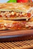 Tuna Pie Typischer galizischer Teller Galizien und Spanien lizenzfreie stockfotografie