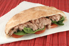 Tuna pita Stock Images